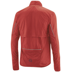 Gonso Cancano 2-in-1 Chaqueta Cortavientos Zip-Off Hombre, high risk red